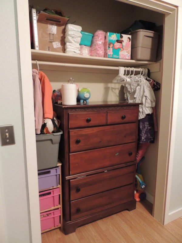 the happy crazy house girl closet