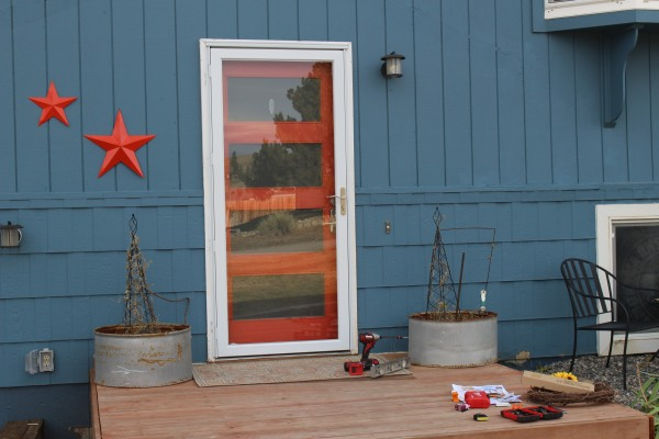 the happy crazy house storm door