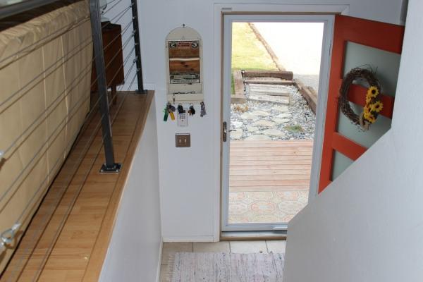 the happy crazy house interior storm door