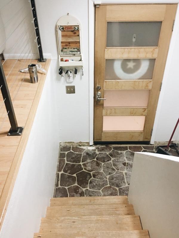 the happy crazy house tile prep
