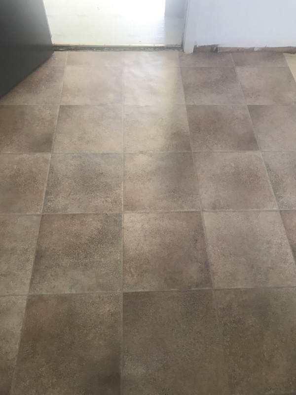 the happy crazy house flooring replacement
