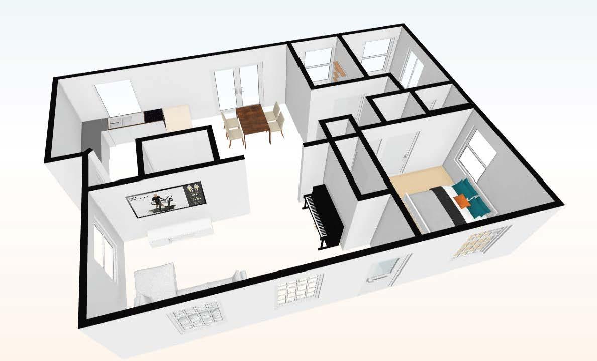 main floor 3D